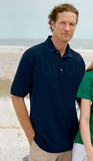 Outer Banks Men's 100% Ringspun Cotton Pique Polo