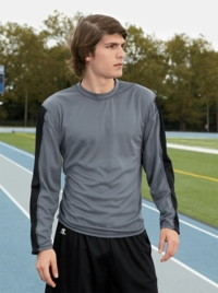 Russell Athletic Long-Sleeve 100% Polyester Sport T-Shirt