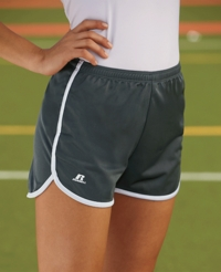 Russell Athletic Women's 100% Polyester Sport Shorts