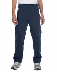 Boys - Girls Open-Bottom Fleece Pants with No drawcord