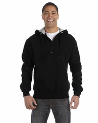 Champion Quarter Zip Hooded Sweatshirt