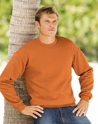 Gildan Men's Crew Neck 9.3 oz. 50/50 Fleece Sweatshirt