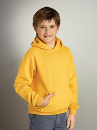 Girls - Boys Heavy Blend Fleece Hooded Pullover with Pocket