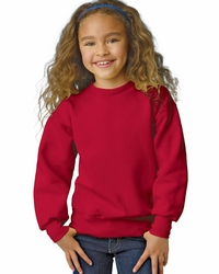 Hanes Boys - Girls 7.8 oz 50/50 Fleece Crew Neck