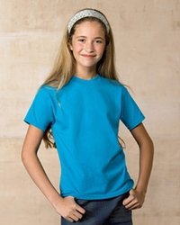 Hanes Girls / Boys Heavyweight 50/50 T-Shirt