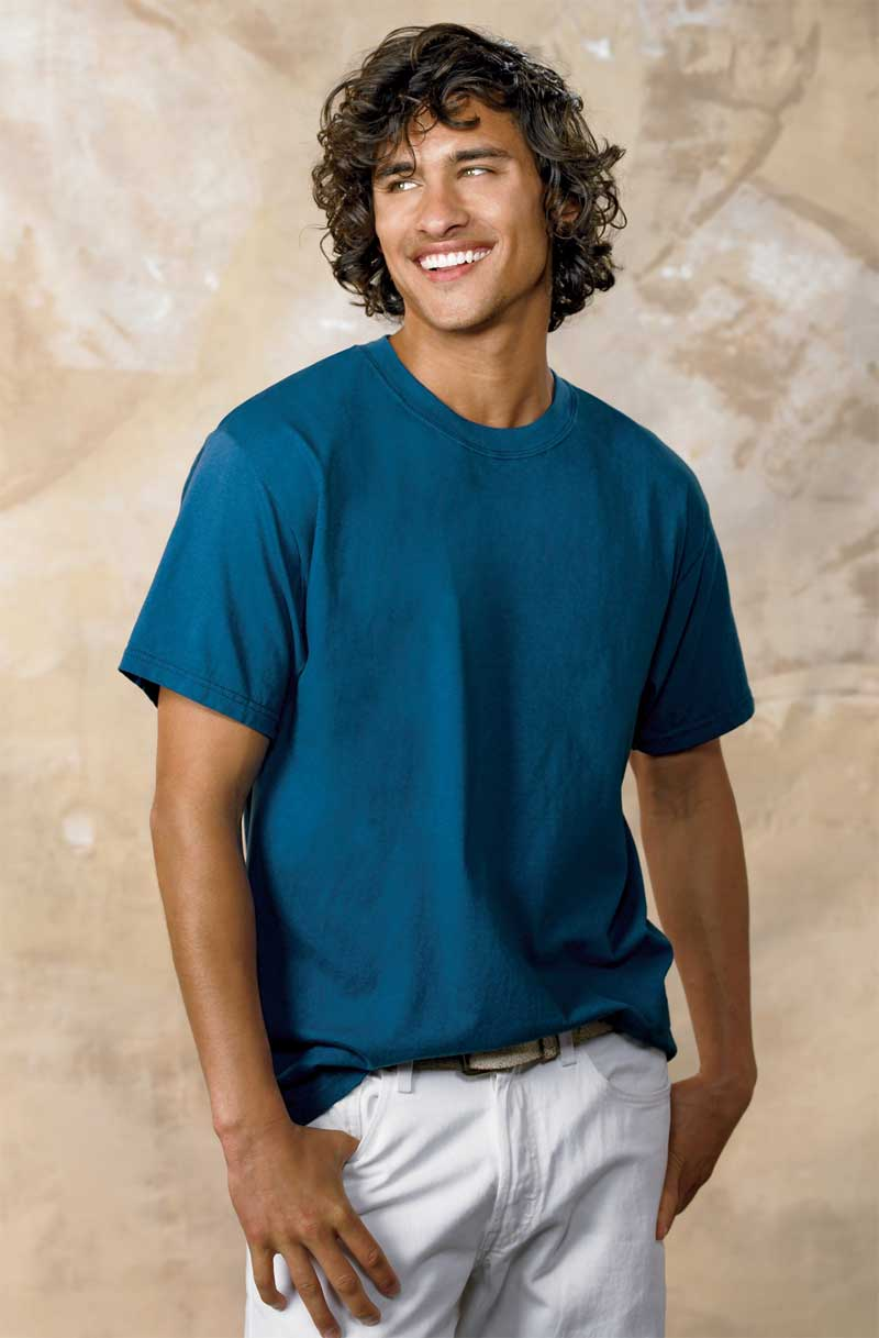Wholesale hanes men 39 s tagless beefy t for Hanes beefy t custom shirts