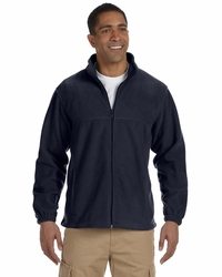 Harriton Men's 8 oz. Fleece Jacket with Pockets