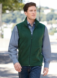 Harriton Men's Midweight Fleece Vest
