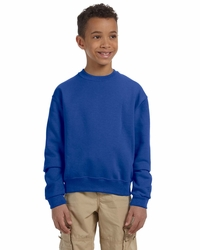 Jerzees Boys / Girls 8 oz 50/50 Fleece Crewneck Sweatshirt
