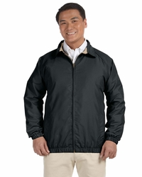 Harriton Men's 100% Polyester Microfiber Jacket