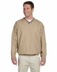 Microfiber Golf Pullover Windbreaker Jacket