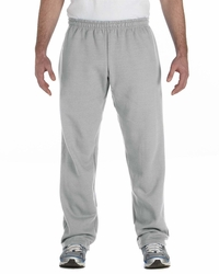 Gildan Men's Open Bottom Sweatpants with Drawcord