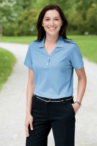 Women 100% Peruvian Pima Cotton  Golf Shirt