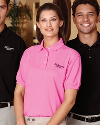 Women's Extra Heavyweight Preshrunk Cotton Deluxe Pique Sport Shirt