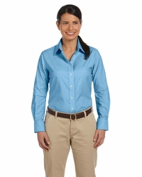 Women's Long-Sleeve Wrinkle-Resistant Oxford Shirt