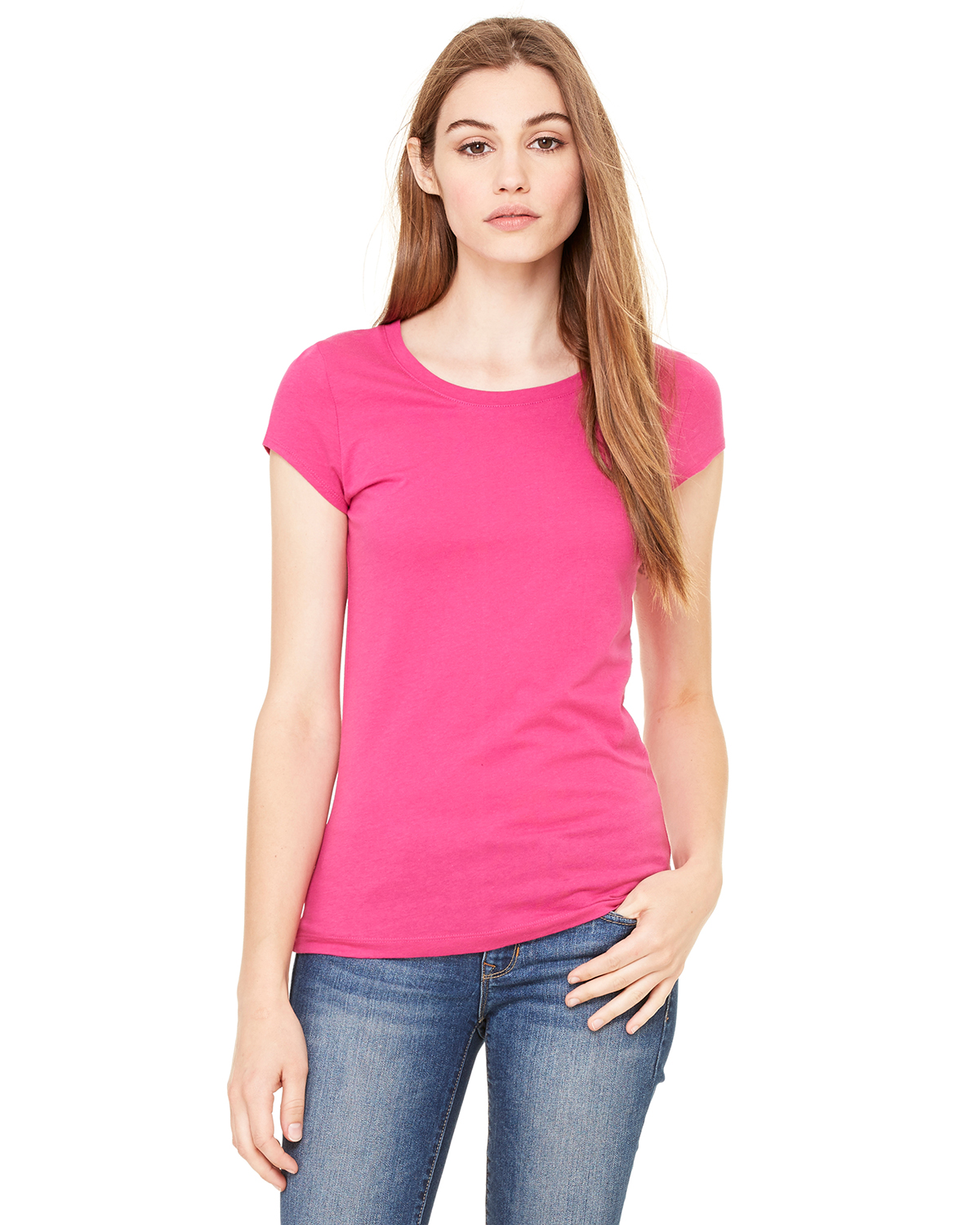 women 39 s sheer jersey longer length t shirt