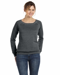 Women'sTriblend Wide Neck Fleece