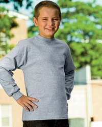 Youth 100% Preshrunk  Tagless Long-Sleeve Shirt