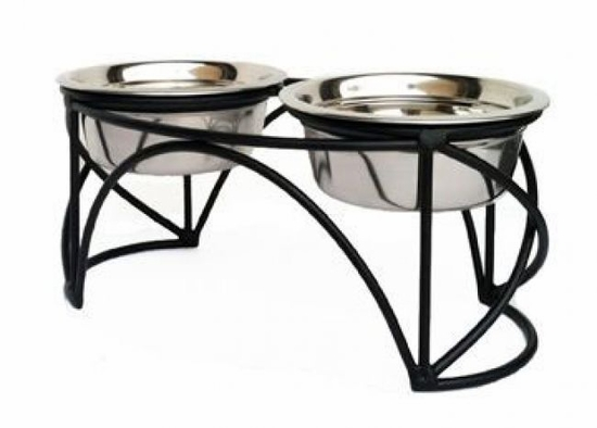 Arch Cross Double Diner For Petsware Small & Medium Bowls