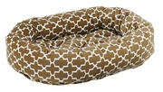 Bowsers Donut Bed - Cedar Lattice Microvelvet