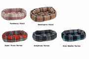 Bowsers Donut Bed - Plaid Microvelvets