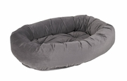 Bowsers Donut Bed - River Rock Microvelvet