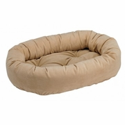 Bowsers Camel Microvelvet Donut Bed