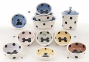 Cat & Bone III Bowls & Treat Jars