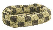 Bowsers Dog Days Microvelvet Donut Bed