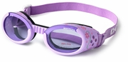 Doggles ILS Lilac Flower with Purple Lens