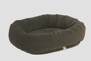 Bowsers Espresso Microvelvet Donut Bed