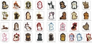 Fou Fou Dog Luggage Tags
