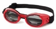 ILS Doggles - Shiny Red with Smoke Lens