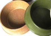Medium Bamboo Bowl in Brown or Green