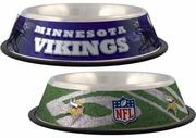 Minnesota Vikings Pet Bowl