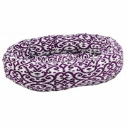 Bowsers Purple Rain  Microvelvet Donut Bed