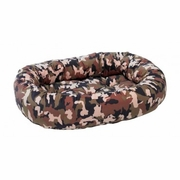 Bowsers Camo Microvelvet Donut Bed