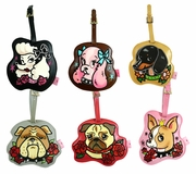 Tattoo Pooch Luggage Tags