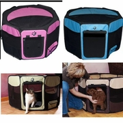Travel Lite Soft-Sided Pet Pen with Removable Top