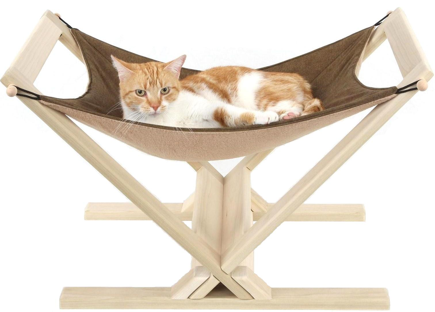 cat hammock with wood stand cat hammock  rh   catabove