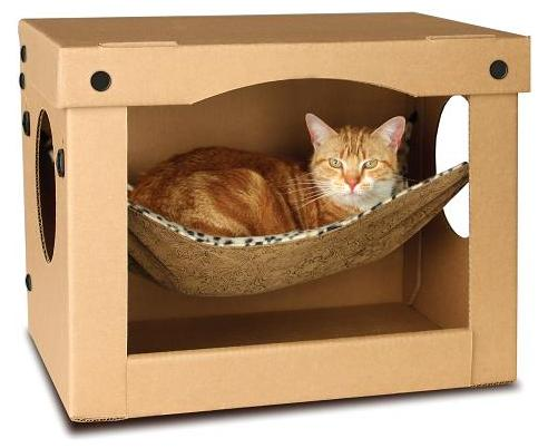 Cat hammock in a box - Sofas para gatos ...