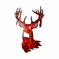 16 Point Buck Metal Wall Art