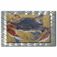 Blue Crab in the Sand