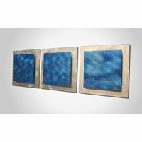 Blue Tranquility Metal Wall Art