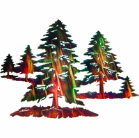 Brilliance of the Pines Metal Wall Sculpture