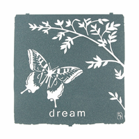 Butterfly Dreaming Metal Wall Hanging