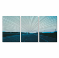Carefree Highway Metal Wall Art