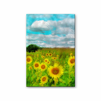 Field of Glory Sunflower Art