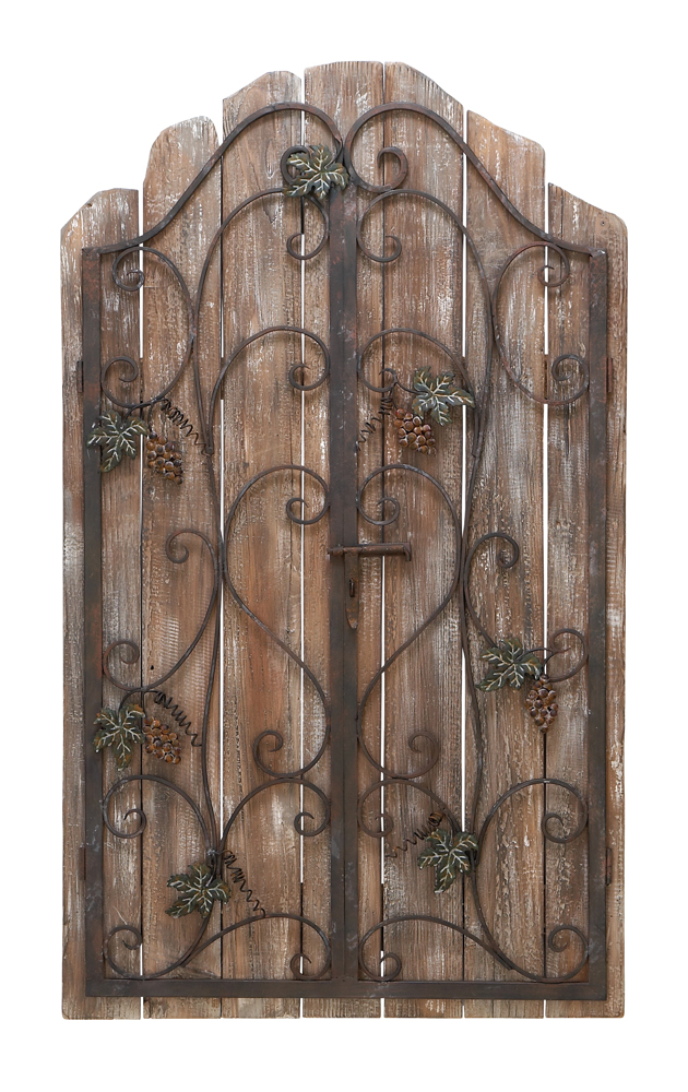 And i feel fine prizzlesticks maeleene supernatural for Garden gate designs wood rustic