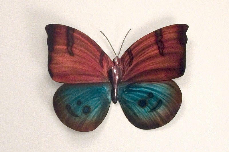 how to make butterfly wings with metal